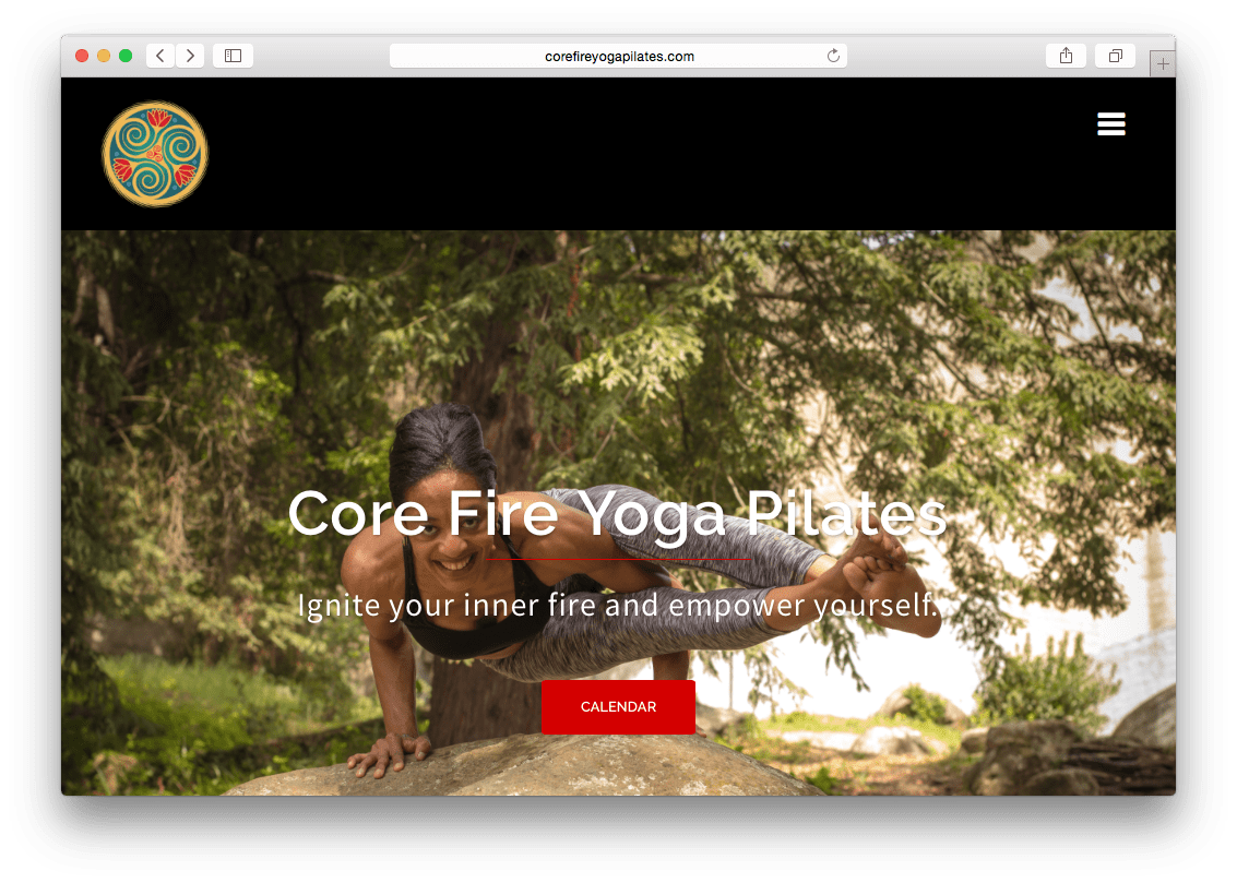 Core Fire Yoga Pilates
