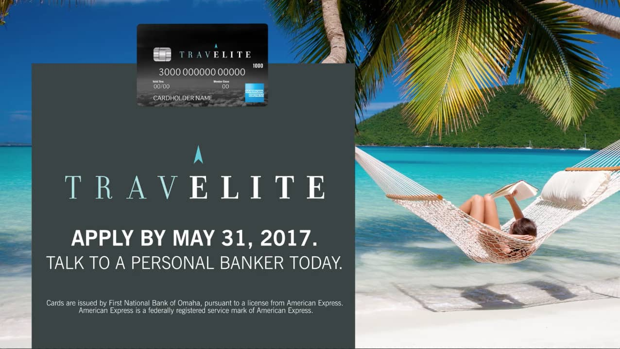 Travel Credit Card Promotion